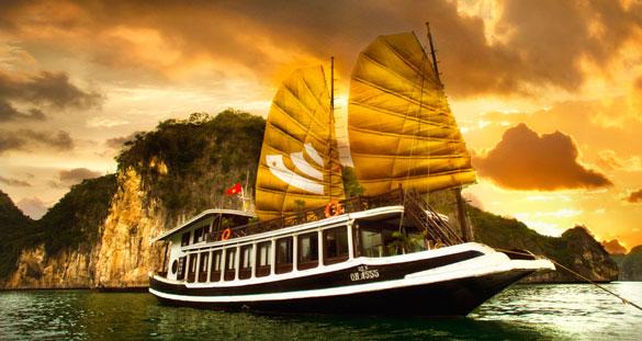 Halong Bay 3 days 2 nights BHAYA CRUISE