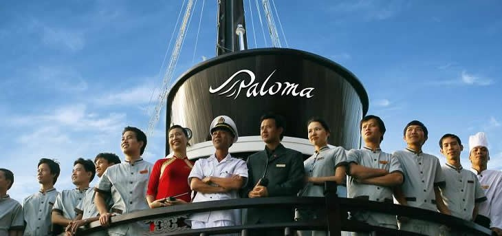 Two Nights Halong bay cruise aboard PALOMA CRUISE