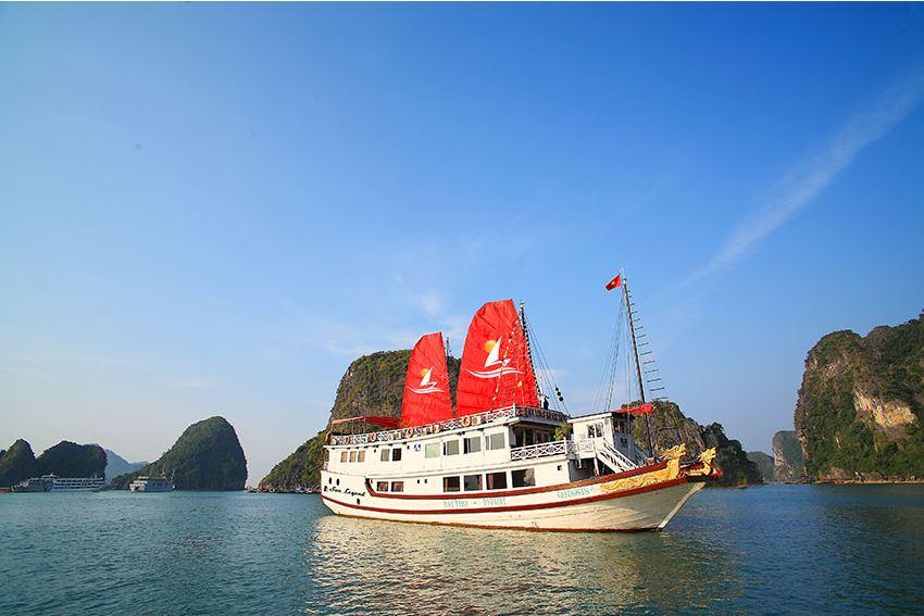 Halong Sun Legend Cruise 2D1N