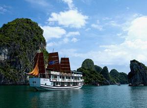 Grayline 3 days 2 nights - new cruise Halong Bay