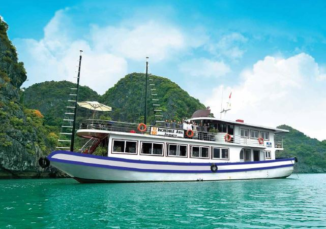Halong 1 day Incredible Cruise